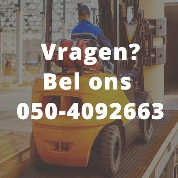 Vragen? Bel ons 050-4092663